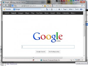 Launch IE Browser