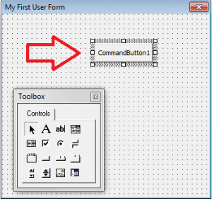 User Form - Add Command Button