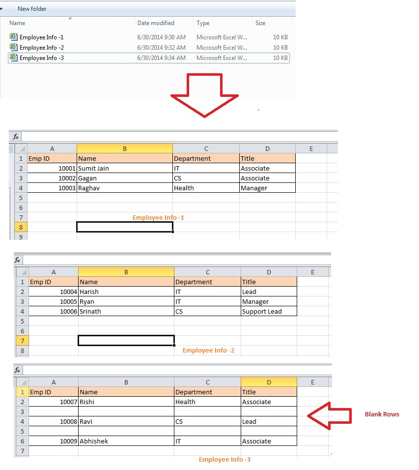 VBAExcel Consolidator Merge or Combine Multiple Excel Files – Combine Excel Worksheets into One