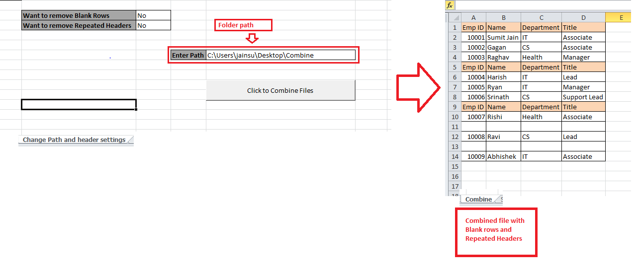 VBA-Excel: Consolidator – Merge or Combine Multiple Excel