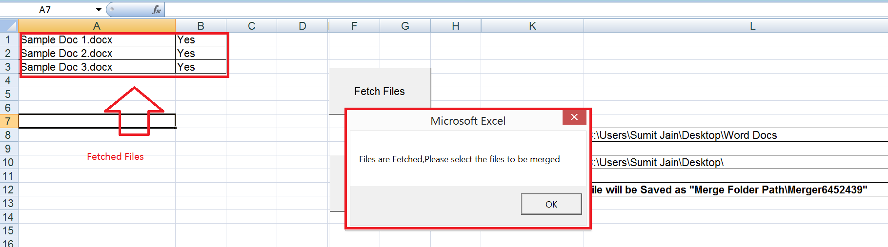 Fetch Files