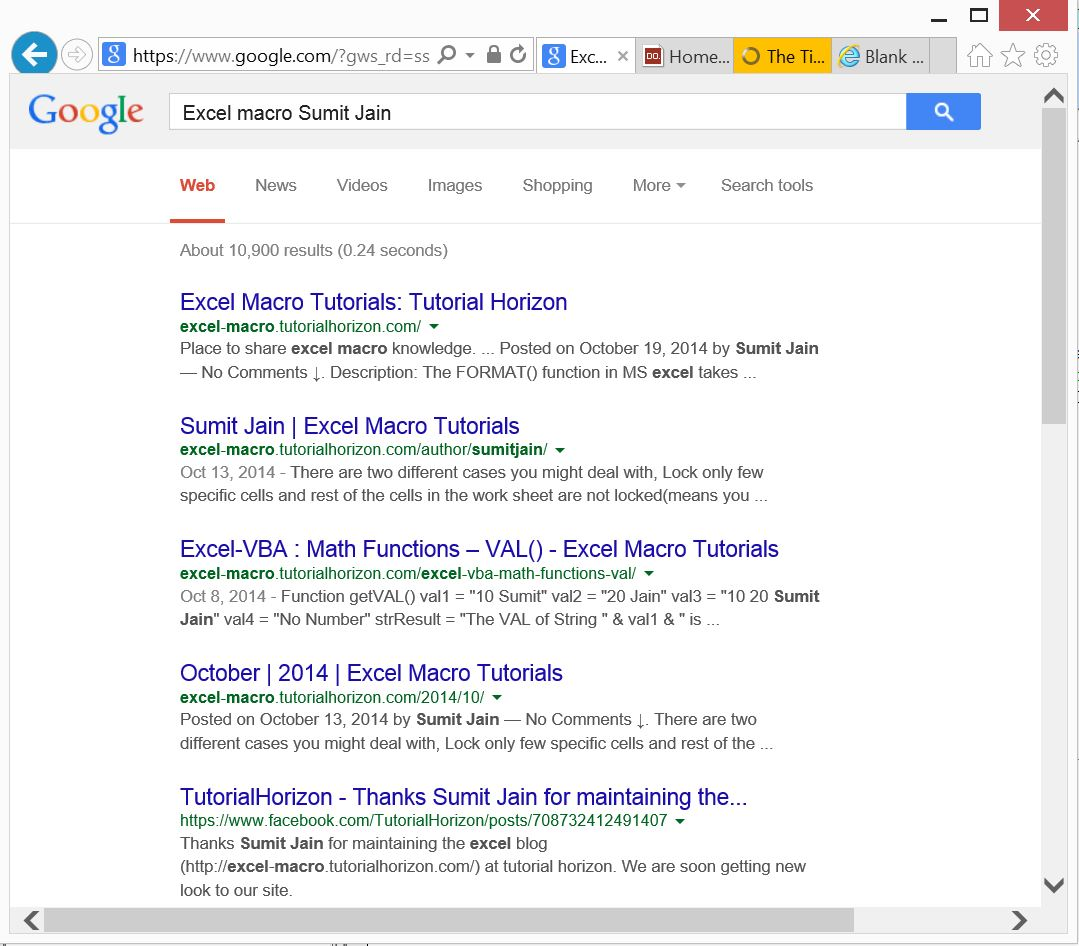 Searched Results