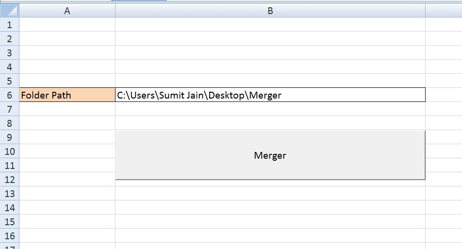 VBA-Excel: Modified Consolidator – Merge or Combine Multiple