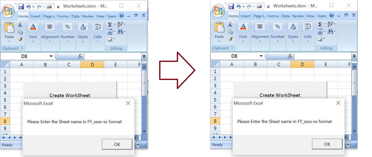 Workbooks macro to combine worksheets : Create worksheets with Names in Specific Format/Pattern