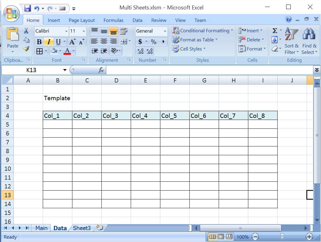 VBAExcel Add Worksheets For All The Given Dates Except Weekends – Vba Add Worksheet